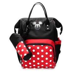 Minnie Mouse Large Capacity Backpack Diaper Bag